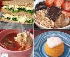 10 Opções de Café da Manhã Sem Ovo