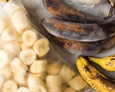 Como Congelar Banana
