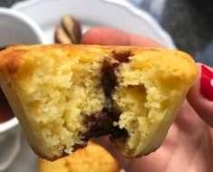 Muffin de Fubá Saudável1