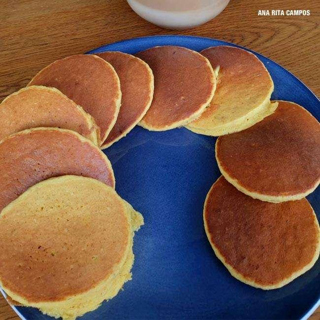 Panqueca-Sem-Gluten Panqueca Sem Glúten de Maçã