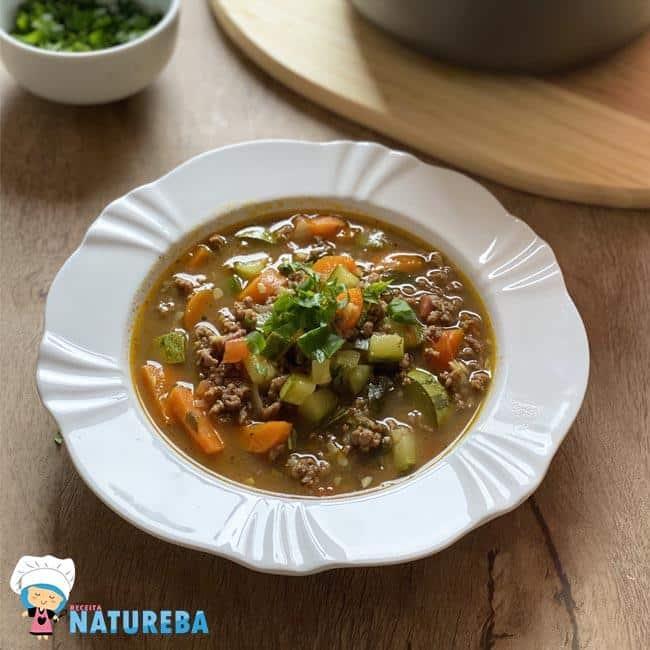 Sopa-de-Legumes-com-Carne-Moida Sopa de Legumes com Carne Moída