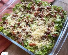 Salada de Alface Diferente