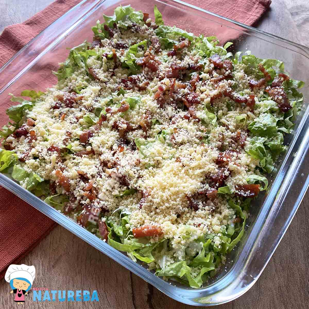Salada-de-Alface-Diferente Salada de Alface Diferente