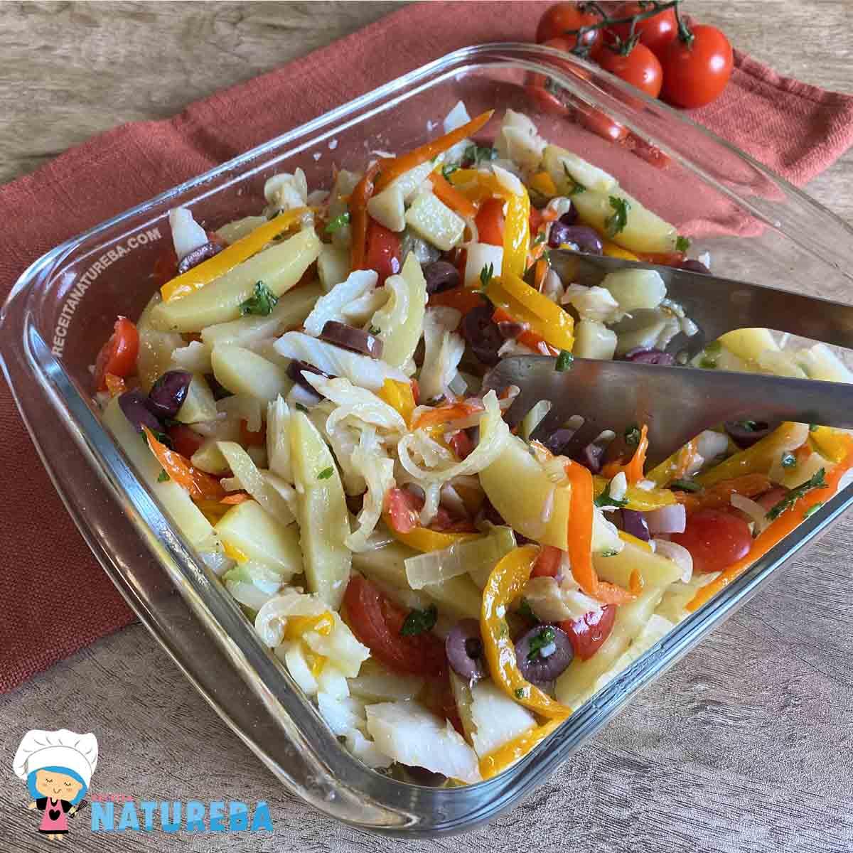 Salada-de-Bacalhau Salada de Bacalhau