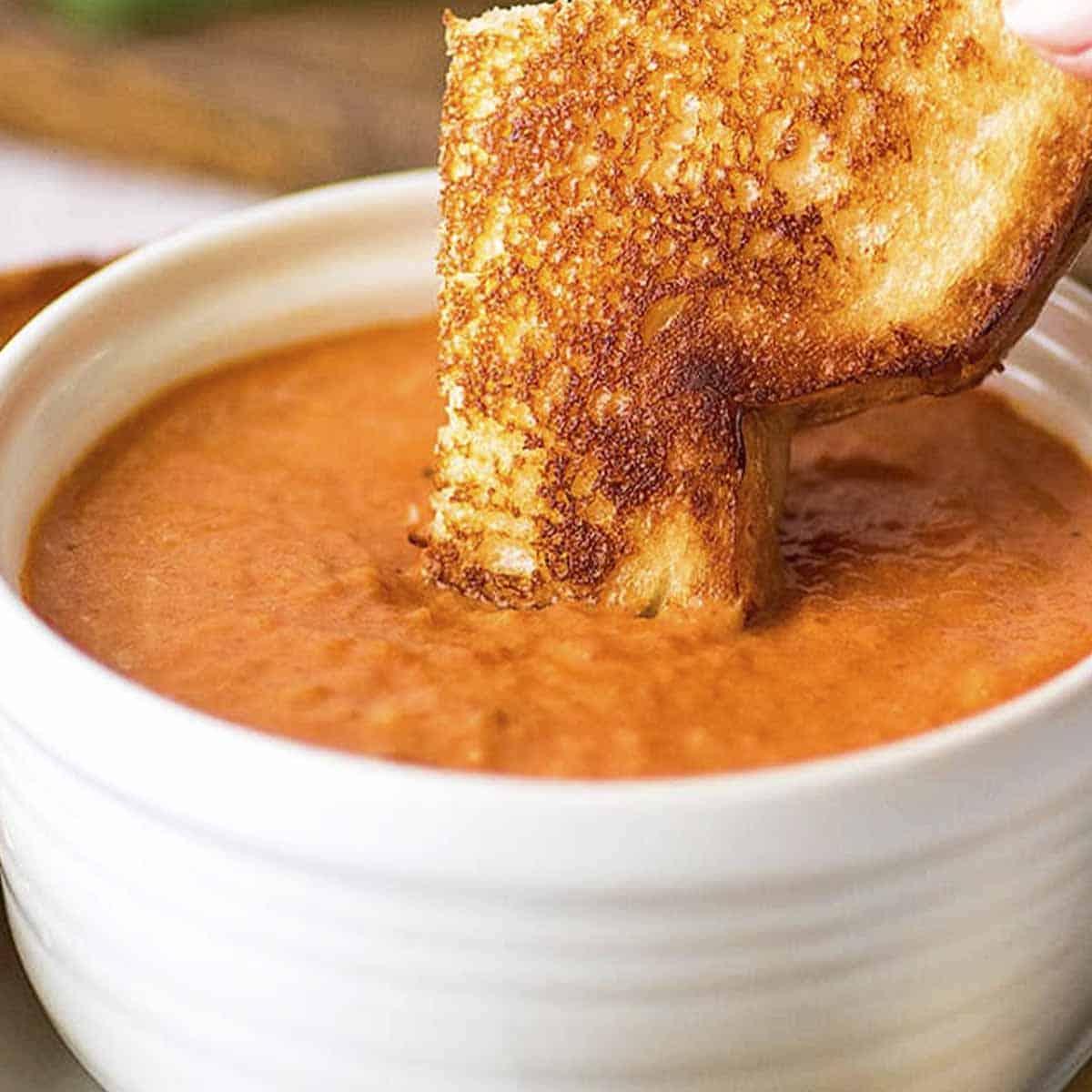 Sopa-de-Tomate Sopa de Tomate