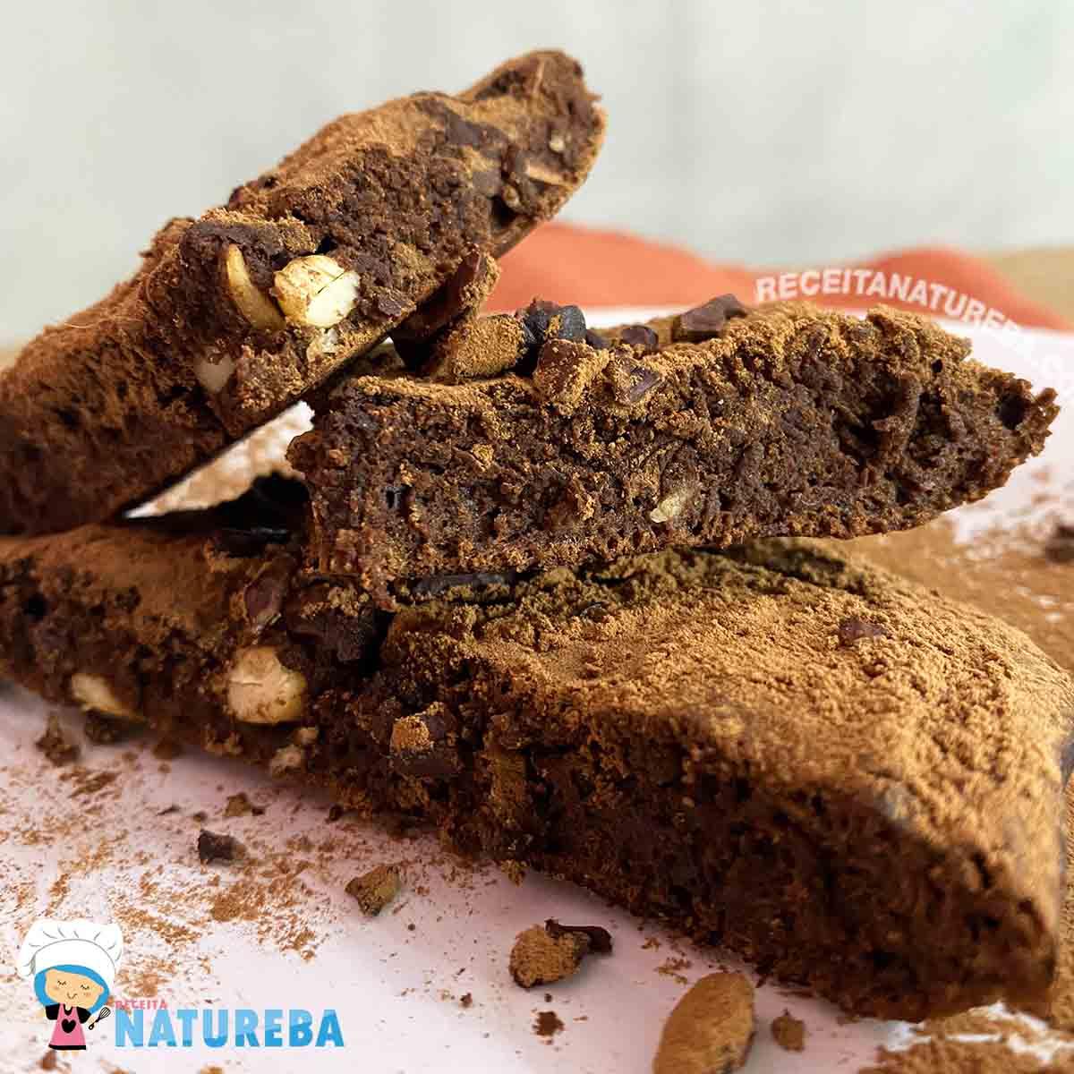 brownie de frigideira